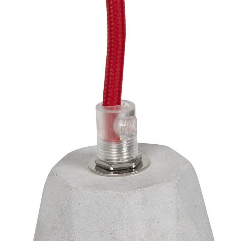 Presa sospensione lordo effetto design (grigio) cemento - image 28751