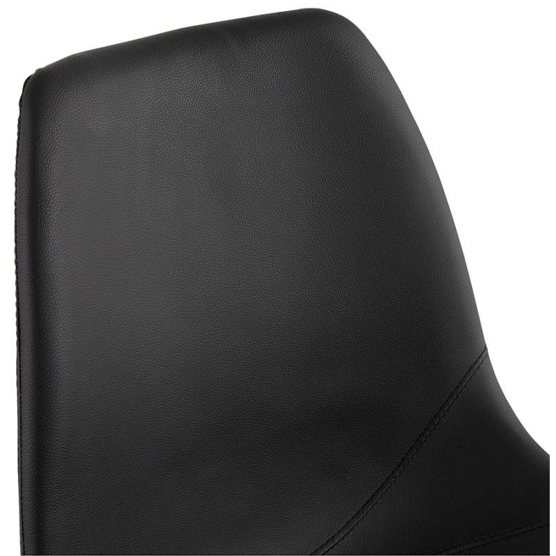 Chaise design OFEN en polyuréthane et métal chromé (noir, chrome) - image 29042