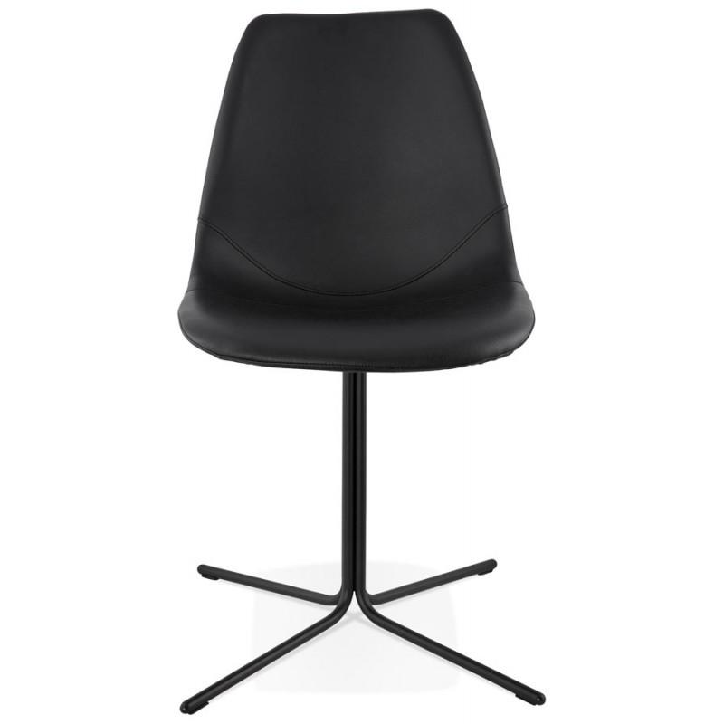 Chaise design OFEN en polyuréthane et métal peint (noir) - image 29050
