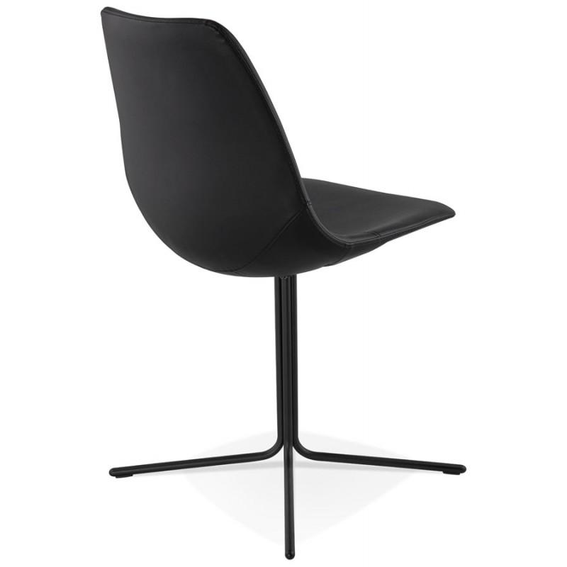 Chaise design OFEN en polyuréthane et métal peint (noir) - image 29052