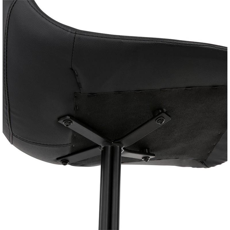 Chaise design OFEN en polyuréthane et métal peint (noir) - image 29058