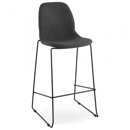 Stool design bar DOLY (dark gray) fabric Chair