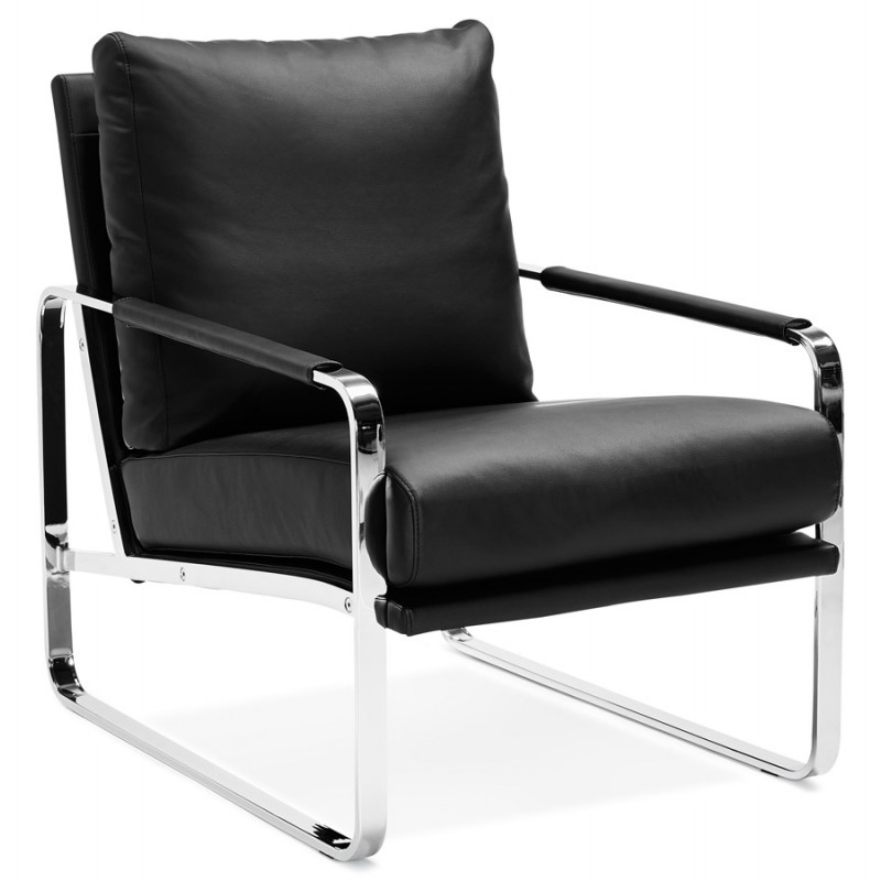 Retro Design Fauteuil.Design Recliner And Julia Retro Black