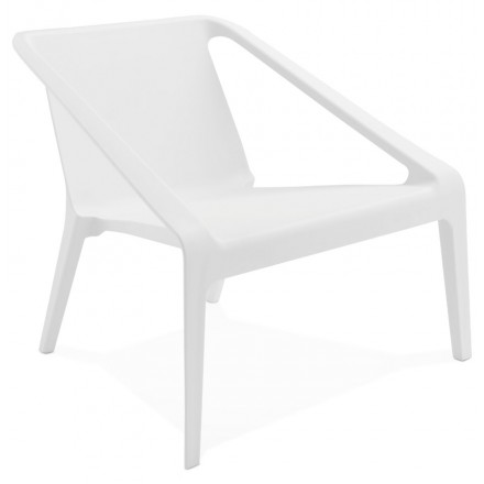 Chair design relax garden SUNY (white)