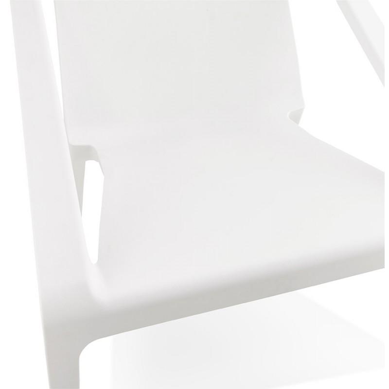 Fauteuil de jardin relax design SUNY (blanc) - image 29151