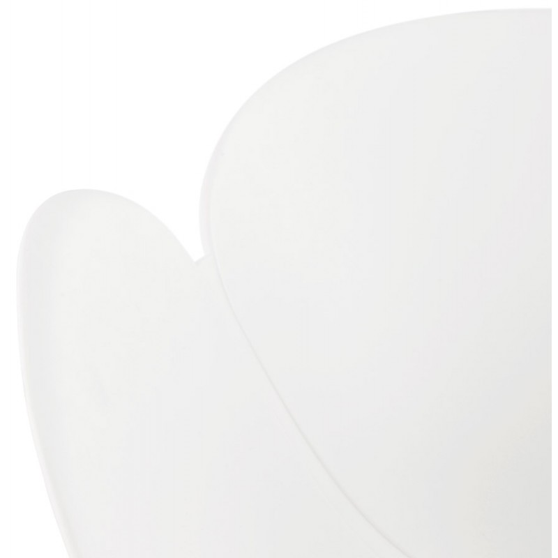 Design chair style Scandinavian LENA polypropylene (white) - image 29230