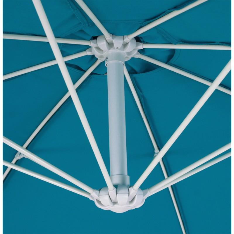 Parasol déporté octogonal ALICE en polyester et aluminium (bleu) - image 29350
