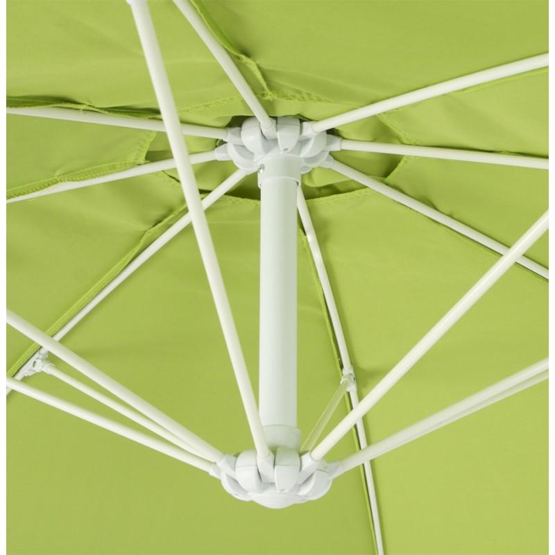 Parasol déporté octogonal ALICE en polyester et aluminium (vert) - image 29363