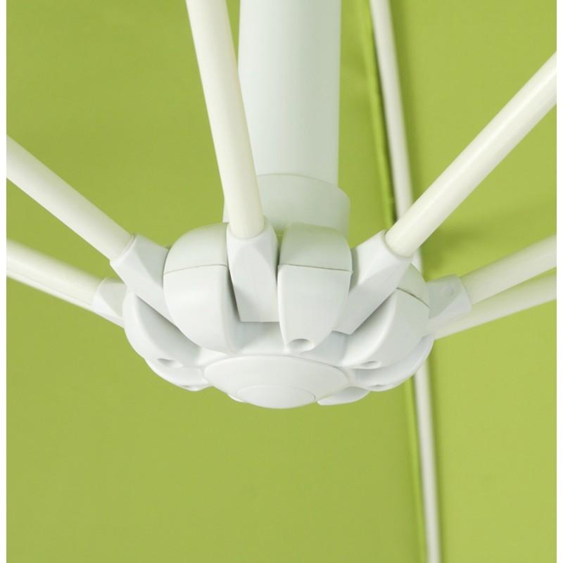 Parasol déporté octogonal ALICE en polyester et aluminium (vert) - image 29364