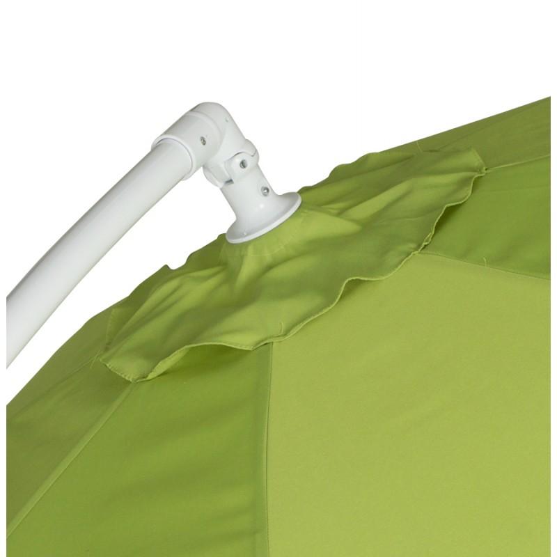 Parasol déporté octogonal ALICE en polyester et aluminium (vert) - image 29366