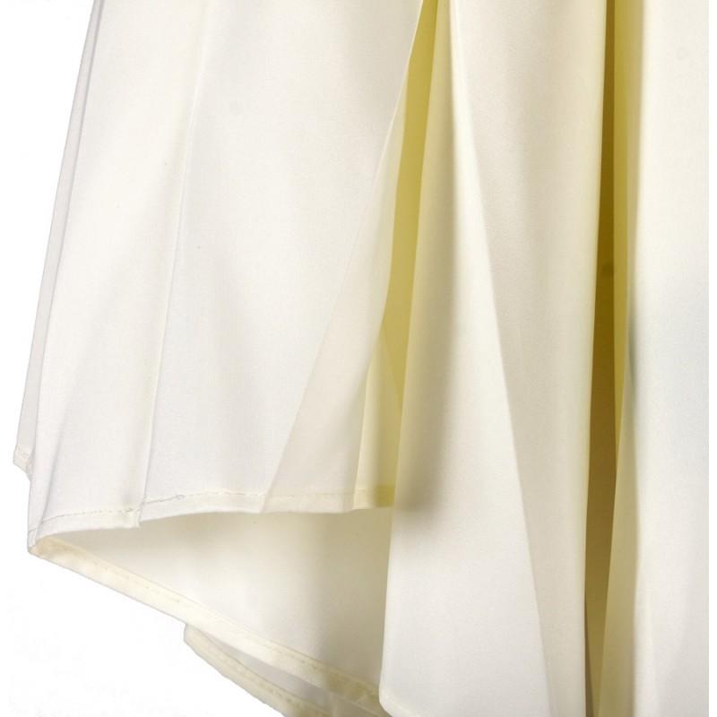 MILOU esagonale parasole in poliestere e legno indonesiano (naturale) - image 29389