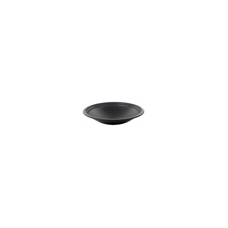 Table de jardin basse ronde MOOREA aspect fer forgé (noir) - image 29468
