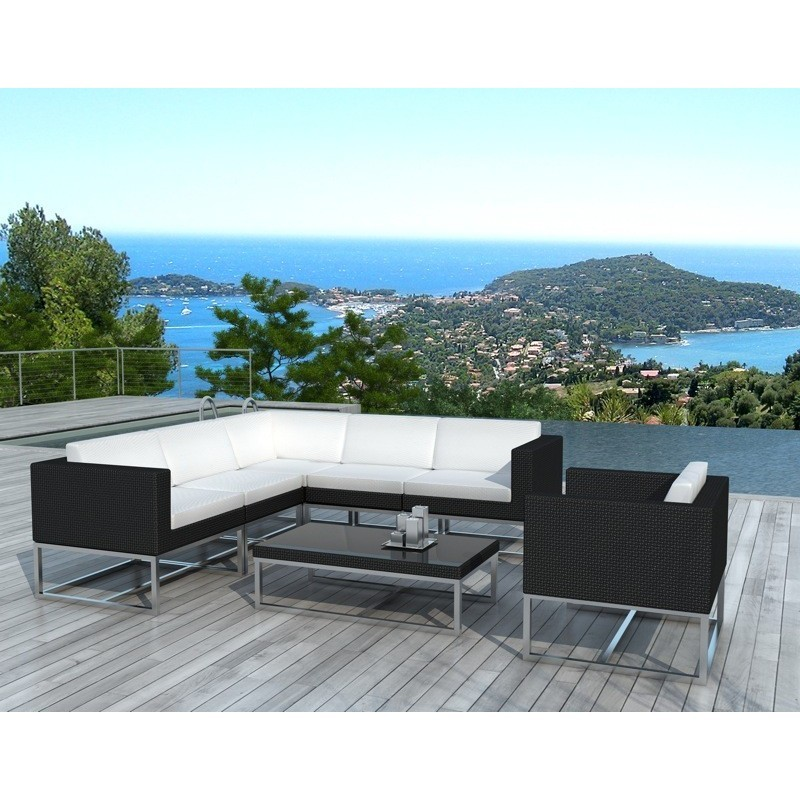 Muebles de jard n 6 plazas guatemala tejida la resina for Salon de jardin de resina de equilibrio