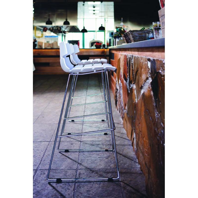 Design bar BRIO (white) polypropylene stool - image 30027