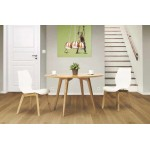 Dining table style Scandinavian round PONY (Ø 120 cm) (wooden)