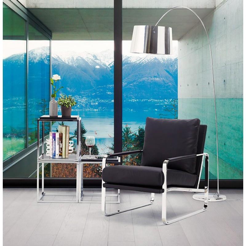 Table d'appoint KVADRA en bois ou dérivé (blanc) - image 30054