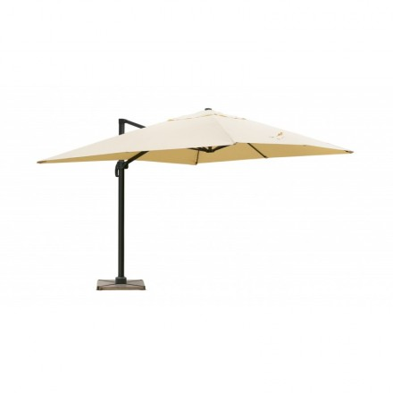 Parasol deported with ventilation 3 m x 4 m LEONIE (beige)