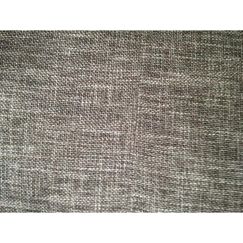 Canapé droit design 3 places MARIO en tissu (gris clair chiné) - image 30273