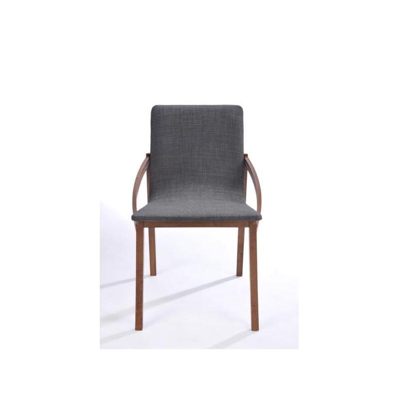 moderne 2er set st hle marianne in stoff und holz. Black Bedroom Furniture Sets. Home Design Ideas