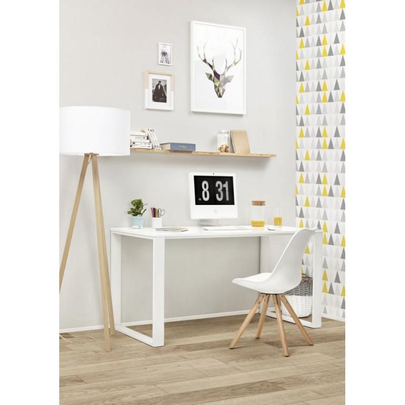 chaise moderne style scandinave nordica blanc. Black Bedroom Furniture Sets. Home Design Ideas