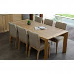 Dining room rectangular (200x95cmx76cm) JASON solid oak (natural oak)