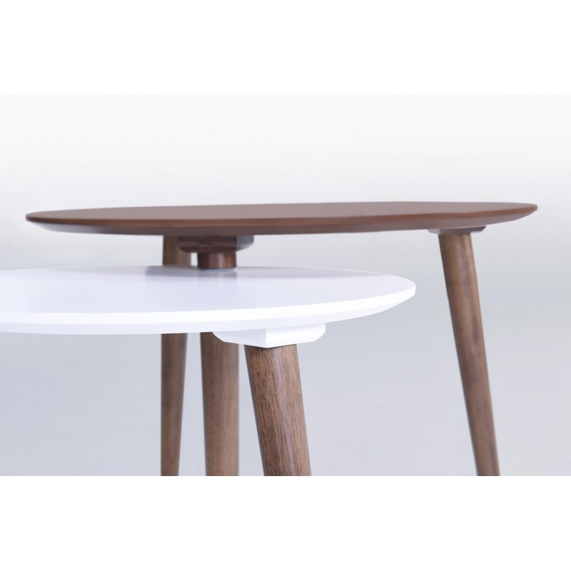 tables low gigones eliaz in bois noyer blanc mat