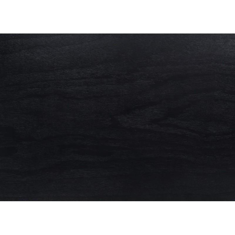 Table à manger design ENZO en bois (180cmX90X75cm) (noir) - image 30651