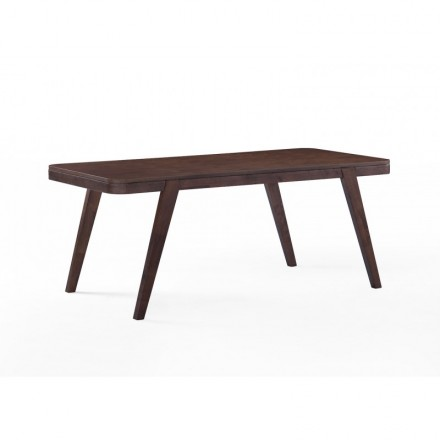 Table Scandinavian dining and vintage LOEVA wooden (180cmX90X75cm) (drowned)