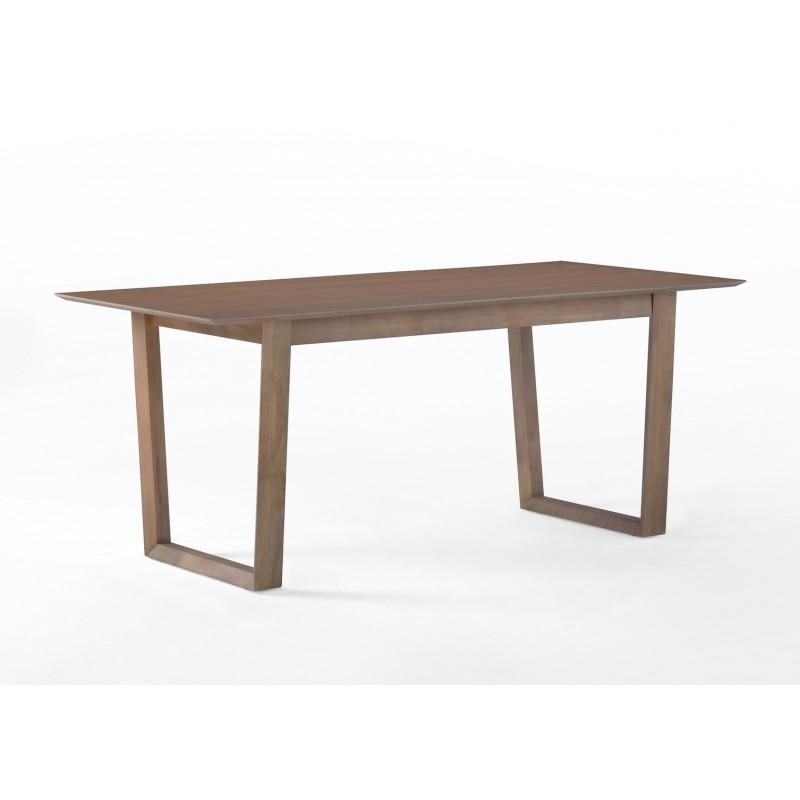 Table à manger design EWEN en bois (180cmX90X75cm) (chêne) - image 30658