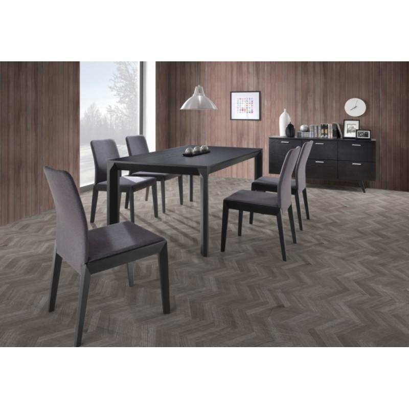 Table à manger design AZIEL en bois (180cmX95X75cm) (chêne) - image 30663
