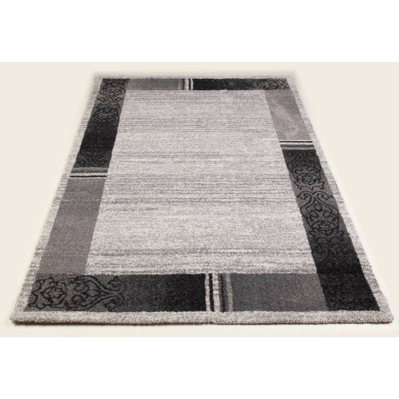 tapis de couloir moderne 80x300 cm modern fashion gabeh creme anthracite. Black Bedroom Furniture Sets. Home Design Ideas
