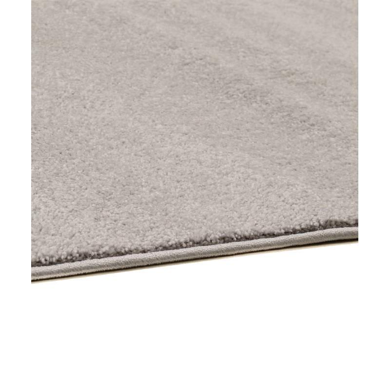 Tapis de salon moderne et fris 60x110 cm modern frise for Tapis gris clair poil ras