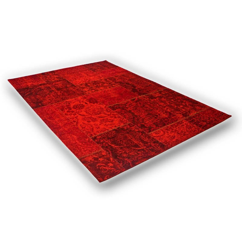 Tapis de salon moderne couleurs d lav es 40x60 cm berlin for Salon tapis rouge