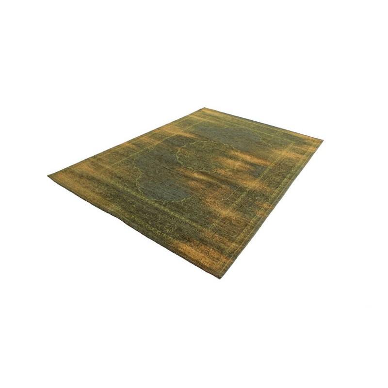 tapis de salon moderne couleurs d lav es 65x230 cm berlin vert jaune. Black Bedroom Furniture Sets. Home Design Ideas