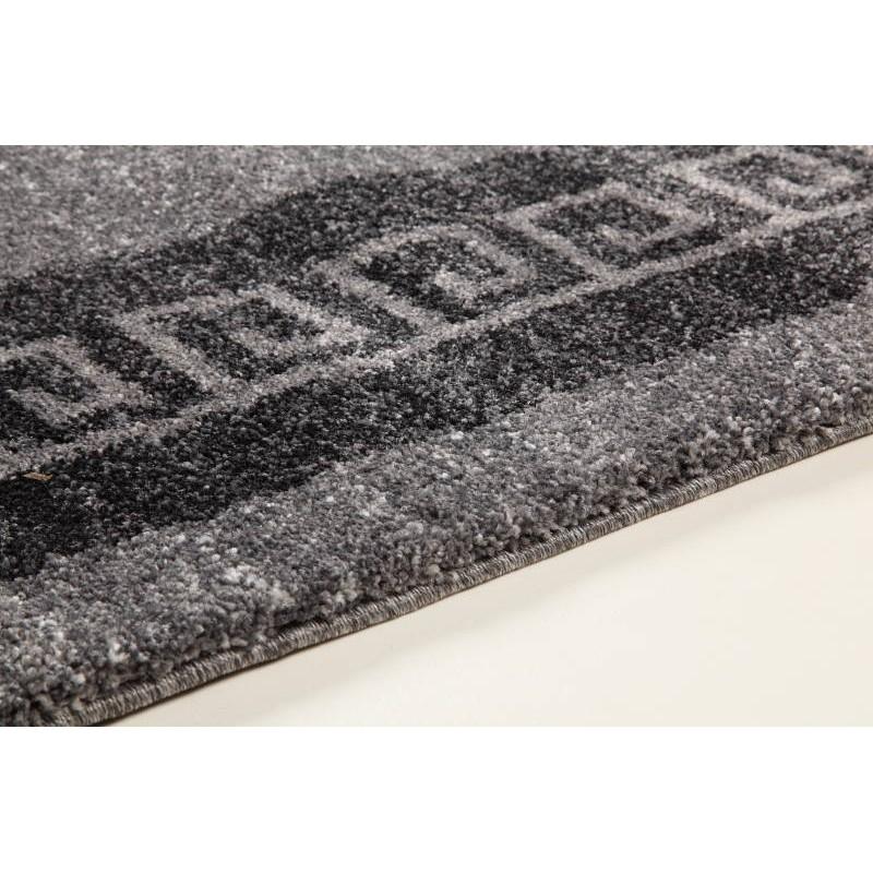 Tapis de salon moderne et motifs 120x170 cm modern for Tapis salon gris anthracite