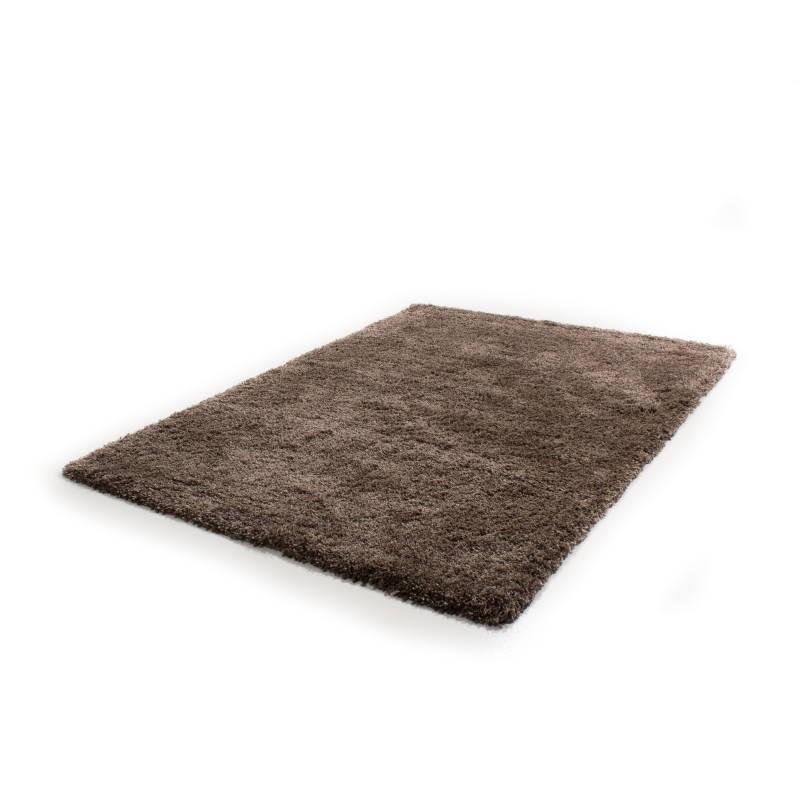 tapis de salon shaggy luxe longues m ches 200x290 cm shaggy luxury serlon brun clair. Black Bedroom Furniture Sets. Home Design Ideas