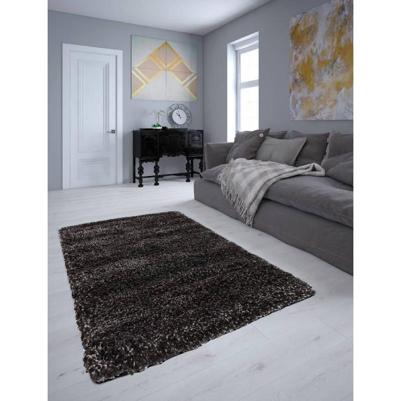 Sala de estar alfombra shaggy lujo larga hilos 240 x 330 for Sala de estar larga