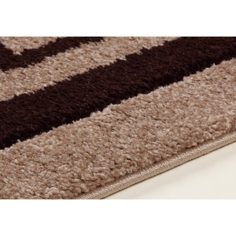 wohnzimmer teppich modern und fries 280 x 380 cm moderne friesland superverso beige braun