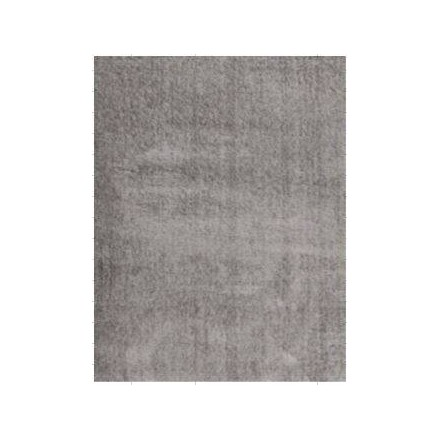 Living room rug shaggy luxury modern 80 x 150 cm shaggy - Tapis salon gris clair ...