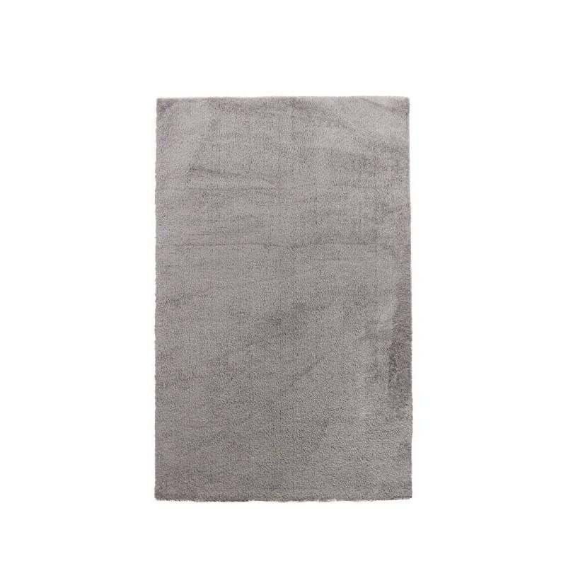 tapis de salon shaggy de luxe moderne 200x290 cm shaggy luxury tiara gris clair. Black Bedroom Furniture Sets. Home Design Ideas