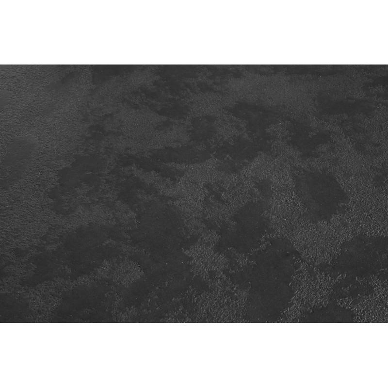 Table basse ronde industrielle TANIA en revêtement minéral (noir) - image 36077