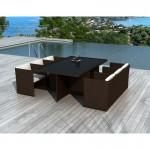 table-a-manger-et-6-fauteuils-de-jardin-encastrable-kribou-en-resine-tressee-marron-coussins-blanc-ecru