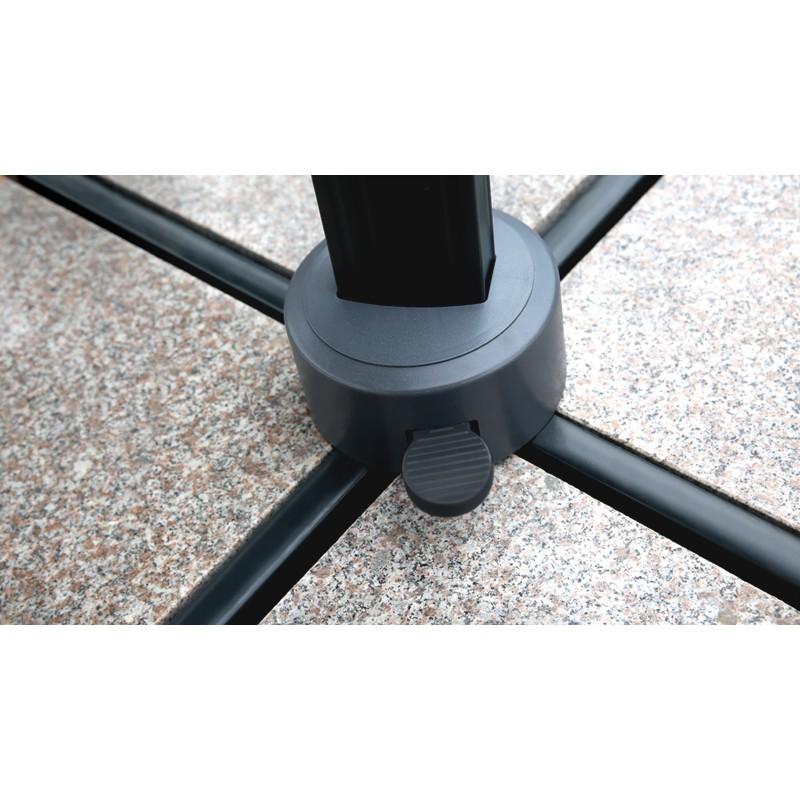 Deportati ombrellone quadrato con ventilazione 2,5 m x 2,5 m NIKA (beige) - image 36519