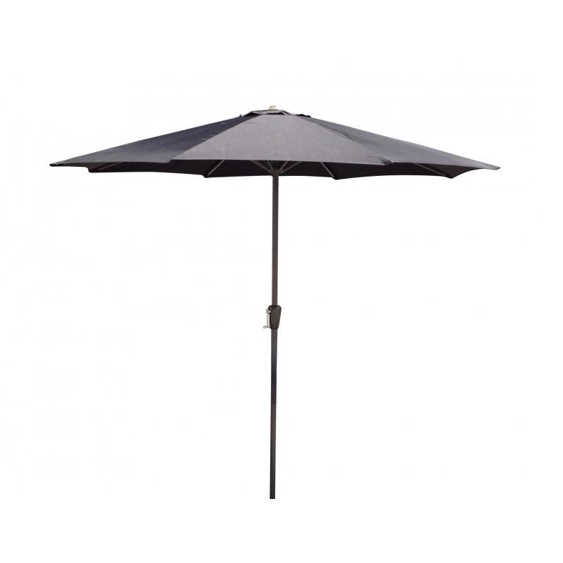 Straight umbrella with ventilation MANYA (black) - image 36590