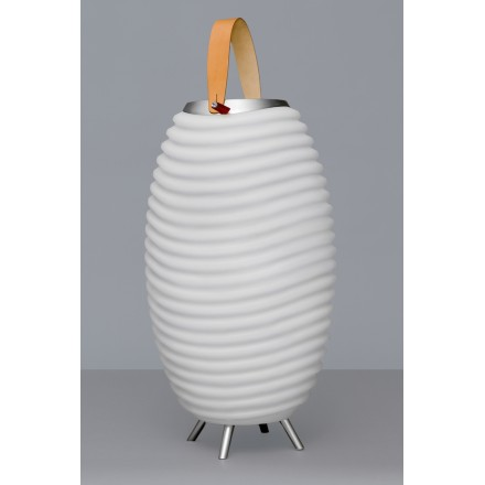 Lamp LED bucket champagne pregnant speaker bluetooth KOODUU synergy 50 S (white)