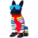statuette-sculpture-decorative-design-chien-assis-h36-en-resine-multicolore
