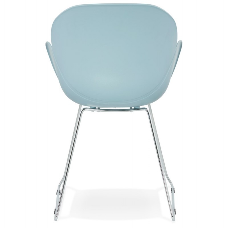 Design chair foot tapered ADELE polypropylene (sky blue) - image 36785