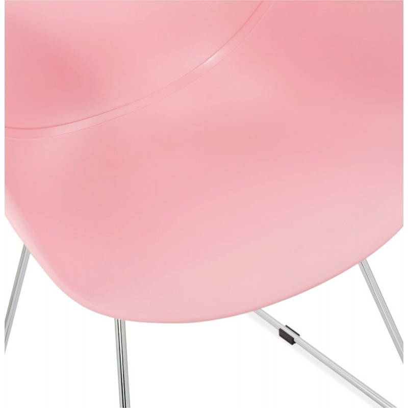 Design Stuhl Fuß konisch ADELE Polypropylen (rosa Pulver) - image 36886