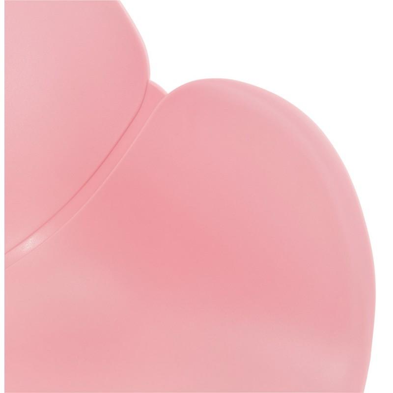 Design chair foot tapered ADELE polypropylene (powder pink) - image 36887