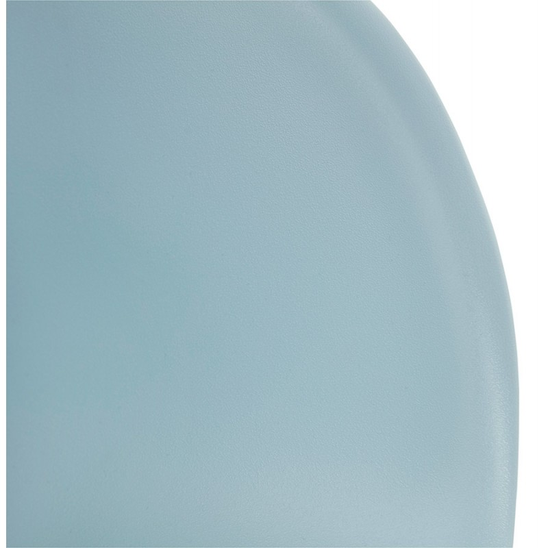 Design chair style Scandinavian LENA polypropylene (sky blue) - image 36953